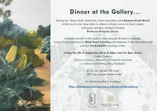 Dinner at the Gallery with Rowena Keall Walsh City Beach Caterers & Catering Companies 4