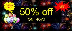 50% Off 7 Day Sale On Now Adelaide City Centre Kids Party Decorations _small
