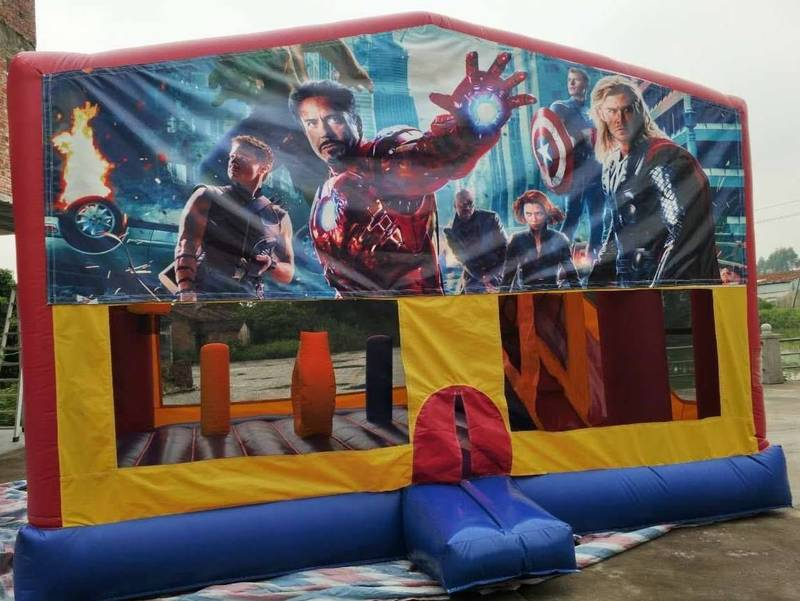 Avengers slide combo, also available in Minions or Pokemon Theme.