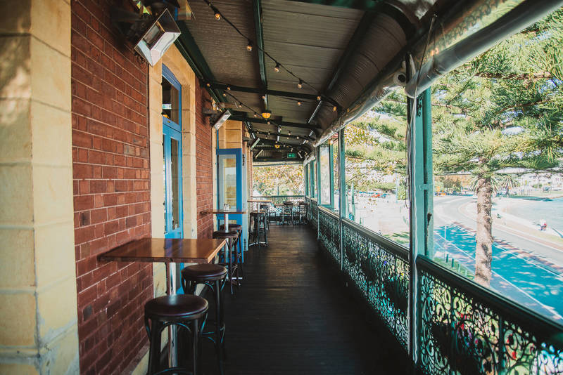 The River Bar - with your private balcony overlooking the Swan River