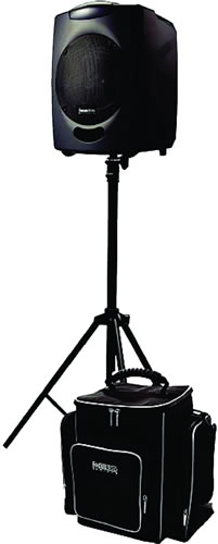 The most popular PA for 100-120 people outdoors - the Chiayo Focus