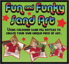 Fun and Funky Sand Art
