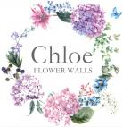Chloe Flower Walls