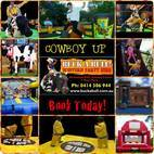 BUCK A BULL WESTERN PARTY HIRE
